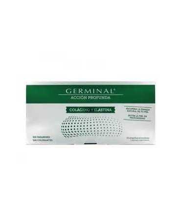 GERMINAL ACCION PROFUNDA COLAGENO Y ELASTINA 1 ML 30 AMPOLLAS