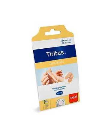 TIRITAS TEXTIL ELAST RAPID 20U