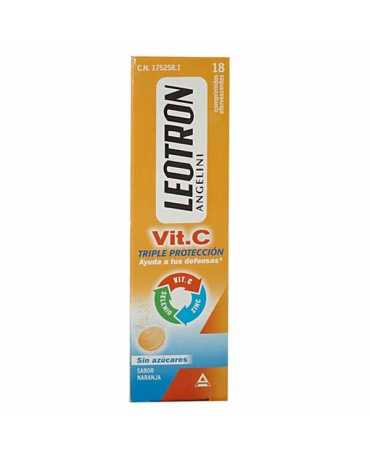 LEOTRON VITAMINA C ANGELINI COMP EFERVESCENTES 18 COMP