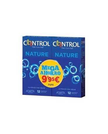 CONTROL NATURE PRESERVATIVOS 12 U (2 UN 50%)