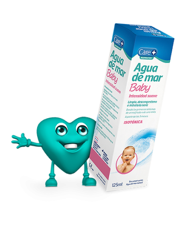 CARE+ AGUA DE MAR BABY ISOTONICA INTENS SUAVE 125 ML