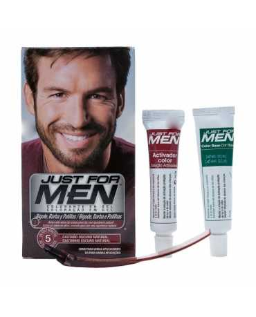 JUST FOR MEN BARBA CASTA OSCUR