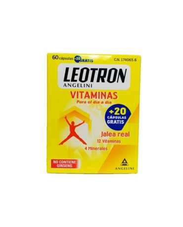 LEOTRON VITAMINAS 60+20 CAPS
