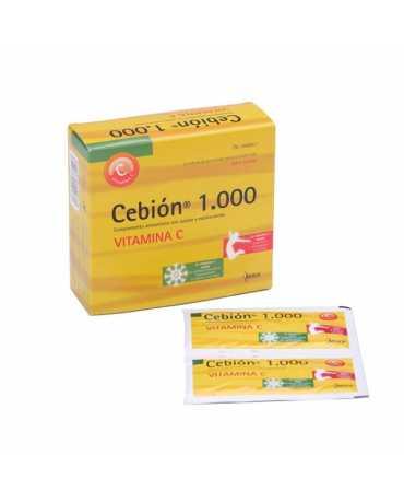 CEBION 1000 MG 12 SOBRES