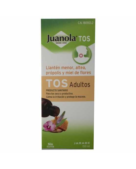 JUANOLA TOS ADULTOS JARABE 150 ML.
