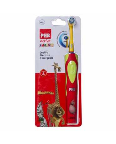 CEPILLO DENTAL ELECTRICO PHB ACTIVE JUNIOR ROJO