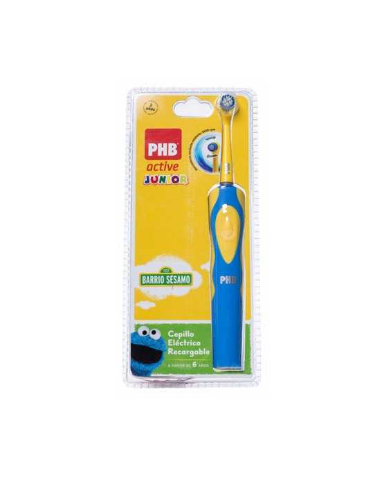 CEPILLO DENTAL ELECTRICO PHB ACTIVE JUNIOR AZUL