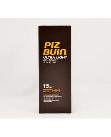 PIZ BUIN FPS -15 ULTRA LIGHT DRY TOUCH PROTECCION SOLAR CUERPO MEDIA FLUIDO 150 ML