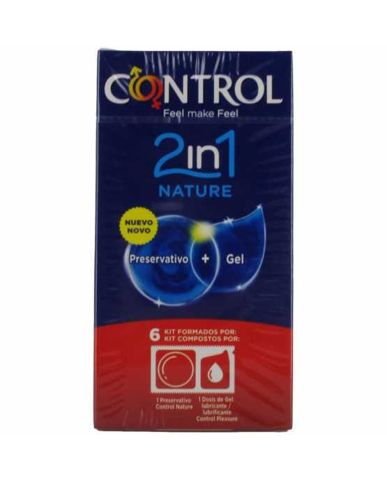 CONTROL 2IN1 NATURE PRESERVATIVOS 6 U