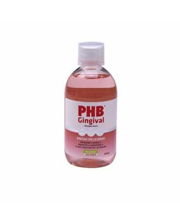 PHB GINGIVAL ENJUAGUE BUCAL ENCIAS DELICADAS 500 ML
