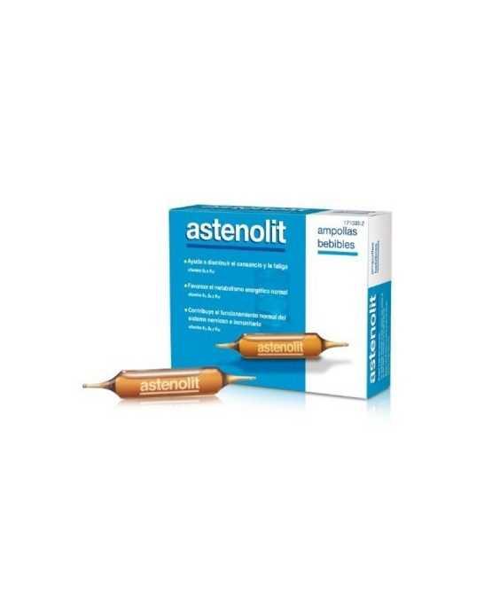 ASTENOLIT AMPOLLAS BEBIB 12UDS