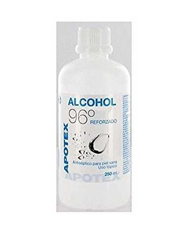 ALCOHOL 96 APOTEX 250 ML