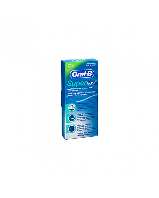 HILO DENTAL ORAL-B SUPERFLOSS