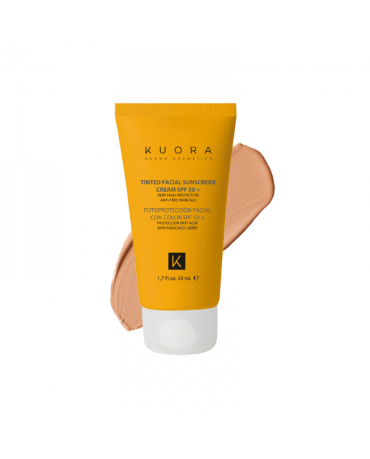 KUORA CREMA FACIAL COLOR SPF50+ 50ML