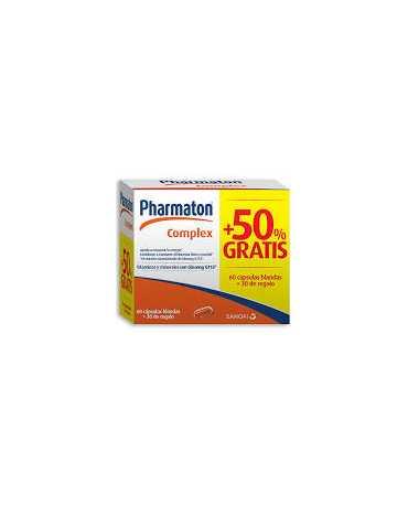PHARMATON COMPLEX CAPS 60 + 30 CAPSULAS PACK PROMOCIONAL