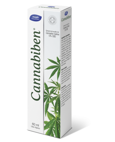 CANNABIBEN GEL 1 ENVASE 60 ML