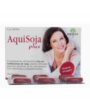 AQUISOJA PLUS 32 CAPSULAS